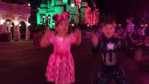 Family Fun Trip Disney Mickeys Not-So-Scary Halloween Trick or Treating, Parade & Fireworks!
