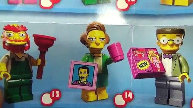 레고 심슨가족 에드나 크라버플 바트 담임 선생님 미니피규어 시리즈2 71009 리뷰 Lego The Simpsons Edna Krabappel Minifigures Series 2