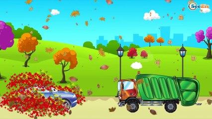 Мультики про Машинки. Грузовик на Детской Площадке - Строительные Машинки. Мультфильмы для детей