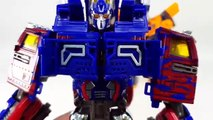 Transformers AOE Optimus Prime + Bumblebee Combiner Robot Vehicle Track Robot Car Toys
