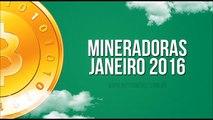 Mineradoras Bitcoin 2016