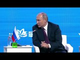 Putin takes part in Eastern Economic Forum plenary session in Vladivostok (streamed live)