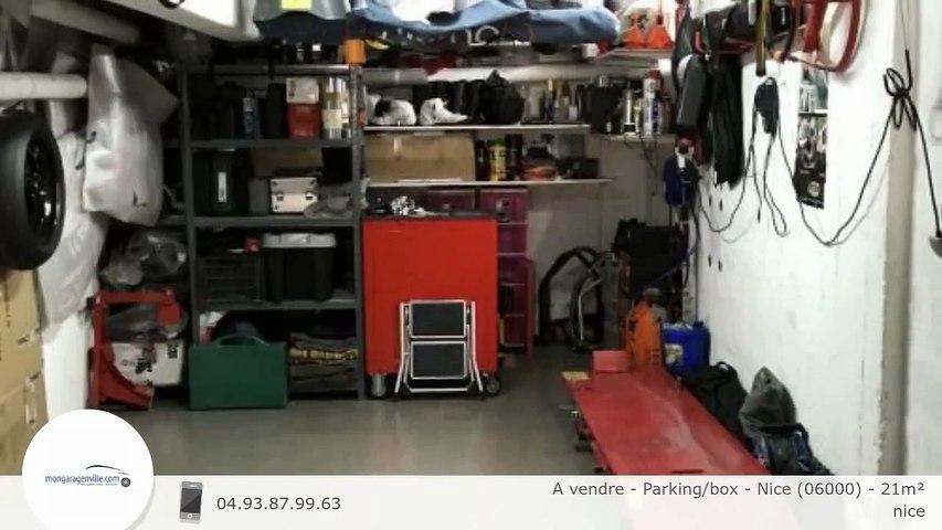 A vendre - Parking/box - Nice (06000) - 21m²