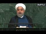Iranian President Hassan Rouhani addresses UNGA (streamed live)