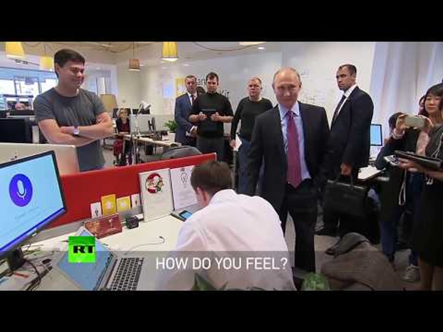 'There's nothing better than cats!' Yandex virtual assistant tells Putin