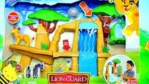 Novo Brinquedo A Guarda do Leão em Portugues | Janja Preso na Armadilha - TOY DISNEY LION GUARD
