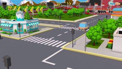 Caminhão e Grande Carros para Crianças   Desenhos animados carros bebês compilação em portugues