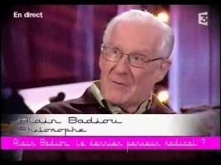 CSOJ - Alain Badiou