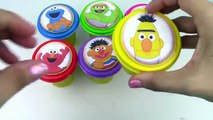 Sesame Street Learn Colors Play Doh Surprise Egg Elmo! Best Toddler Learning Video! Toy Box Magic
