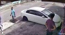 Man Robbed, Car Stolen At Gunpoint