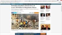 Somalia Bombing FALSE FLAG | I've Been WARNING YOU ALL FOR A MONTH, Awake Yet?