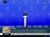 Putin: diplomacia parlamentaria para solucionar conflictos regionales