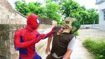 Superhero Action Police Saw Fake Spiderman Bait Superman Police Chase