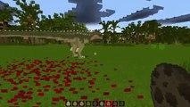 Minecraft: DINOSAURS JURASSIC WORLD (Indominus Rex, Fish Dinosaurs & More) Mod Showcase