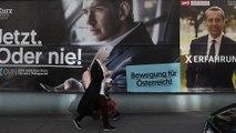 Austria: el democristiano Partido Popular liderado por Kurz, en cabeza con  31% de los votos,  seguido de la extrema derecha con 27,6% y los socialdemocratas terceros con 25,5% según sondeos a pie de urna