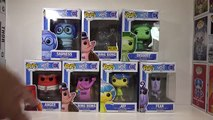 Disney/Pixar Inside Out - Funko Pop! Figures [Disgust, Fear, Bing Bong, Sadness,