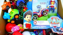 Box Full of Toys   Paw Patrol Cars Figures Vehicles Cars Disney toys, Action Figures, Transformers 8