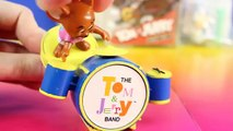 Tom And Jerry Rock N Roll Hanna-Barbera Series 1 McDonalds Toy Tom And Jerry Play Guitar In A Band
