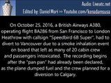 PAN PAN PAN due to Toxic Fumes on Board a British Airways A380 (ATC)