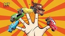 Disney Cars Finger Family | Daddy Finger Song Cars Lightning McQueen - Nursery Rhymes & Kids Songs