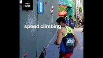 L'escalade rapide : nouveau sport Olympique le plus rapide de l'histoire !!