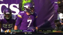 Minnesota Vikings RB Latavius Murray uses wicked cut to get first down