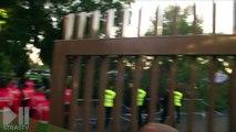 Les marseillais veulent en découdre, la police intervient à Strasbourg