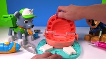 Learn Colors with Paw Patrol Skye Monkey Dentist Learning for Children | Fizzy F