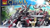 LEGO Chima Worrizs Combat Lair Review - Legends of Chima LEGO 70009