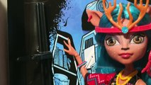 Isi Dawndancer (Изи Даунденсер) Monster High. Brand Boo Students. Распаковка и обзор на куклу/review