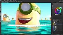 Minions - Speed Painting Photoshop