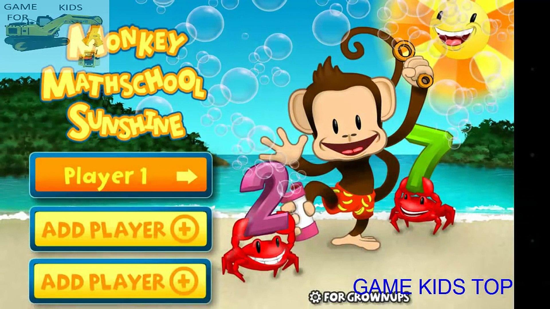 Monkey Math School Sunshine - Learn math for Kid || Education App for Kids 2016 - Game Kids Top
