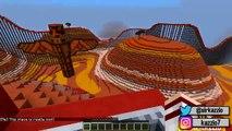 Minecraft MONTANHA RUSSA QUE ATRAVESSA DIMENSÕES ! ( Multiverse Roller Coaster )