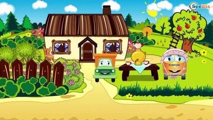 Мультфильмы для детей - ЭВАКУАТОР - Спасательная машина - Развивающие мультики для детей