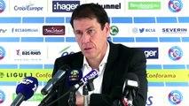 Strasbourg 3-3 OM : la réaction de Garcia