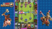 Clash Royale - Best Hog Rider + Prince Combo Deck & Strategy for Arena 5, 6, 7, 8 | Hog Prince Cycle