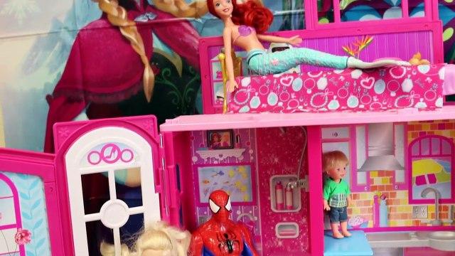 HUGE SURPRISE TOYS CHALLENGE Surprise Toys Batman & Barbie Dollhouse Hunt by DisneyCarToys