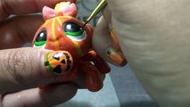 Custom SPIDER PUMPKIN LPS Littlest Pet Shop Tutorial