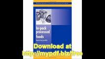 In-Pack Processed Foods Improving Quality (Woodhead Publishing Series in Food Science, Technology and Nutrition)
