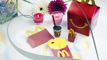 DIY Crafts: 4 Fun McDonalds DIYs- School Supplies (Phone Case, Mini Pen & Eraser, Notebook)