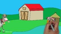Farm Animals video for children. Animals Cartoons. Learn the animals in the Farm! Animals Cartoons-itoMv59IxqY
