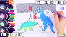Learn Dinosaurs Name Sounds Dinosaurs - Learn Names Of Dinosaurs - Painting Dinosaurs