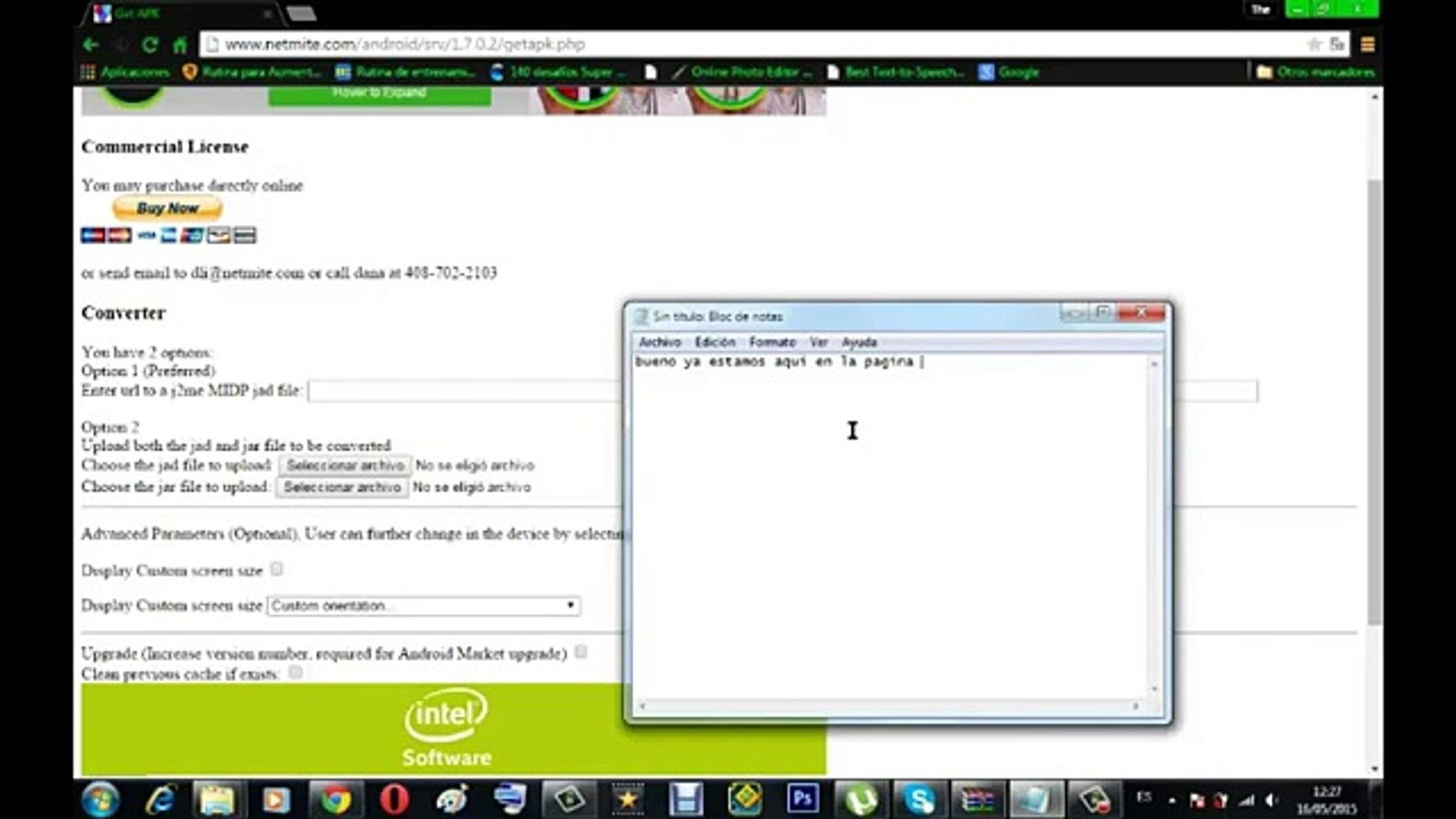 Aplicaciones Java en android-Java J2ME Runner (tutorial mejorado)