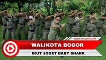 Terima Tantangan AHY, Walikota Bogor Bima Arya Joget Baby Shark
