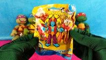 Lego Teenage Mutant Ninja Turtles Play-Doh Surprise Eggs Leonardo TMNT Ninja Turtles Toys