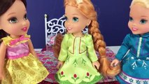 Frozen Elsa, Anna, Ariel and Belle Toddlers VS Feet! Gross Feet, Stinky Feet Plus more in 4K!