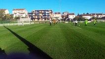 SAINT MAX ESSEY FC U15 A 4-2 HAUT DU LIEVRE 3E BUT COUP FRANC AXEL GERARD