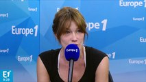 """Harcèlement sexuel : """"Il faut dire aux femmes qu'elles peuvent parler"""", estime Carla Bruni"""
