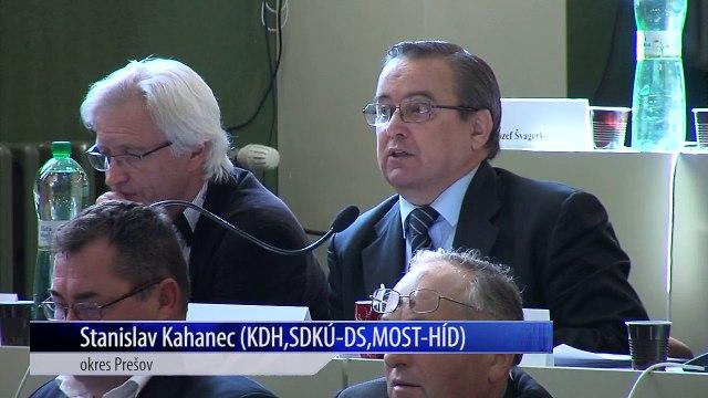 Záznam zasadnutia Zastupiteľstva Prešovského samosprávneho kraja (PSK) 20171016