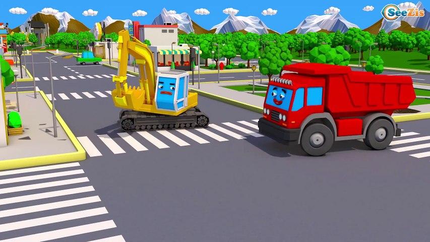 NOVO! Pequeno Trator Para Crianças   Desenhos Animados Carros Bebês Compilação de 20 min
